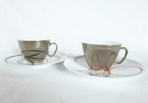 磁器 ティーカップ&ソーサー